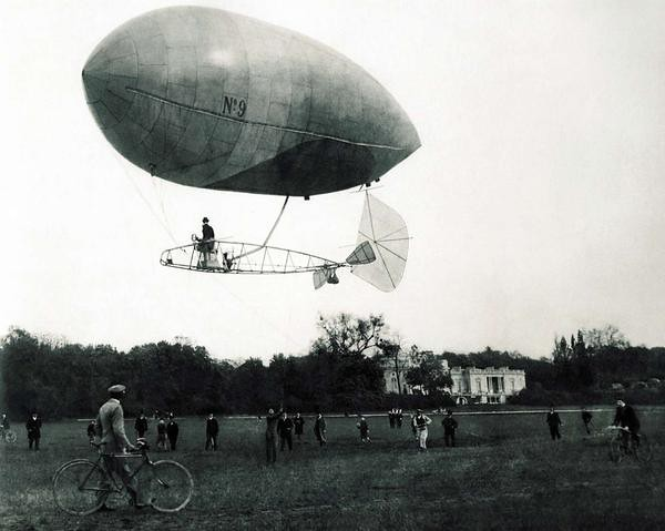 REALLY old dirigible