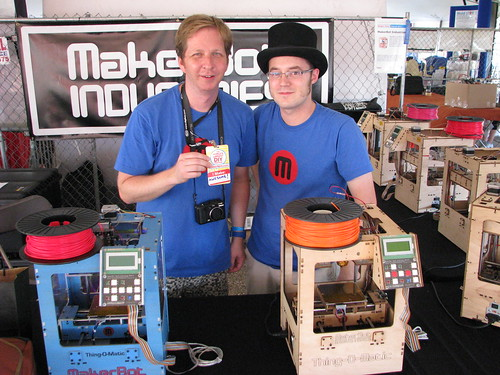 Keith and Matt from Makerbot