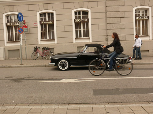 Mercedes+bicycle
