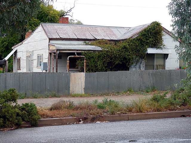 tin roofed Australian outback desolate towns