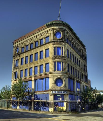 Ferdinand's Blue Store; Roxbury, Mass., HDR
