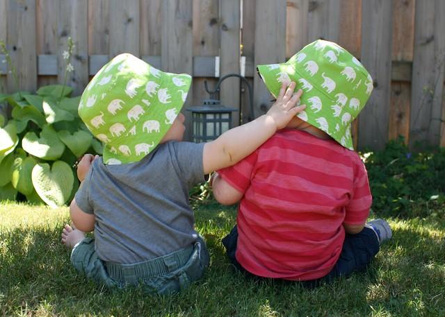 bucket hat boys (elephant side)