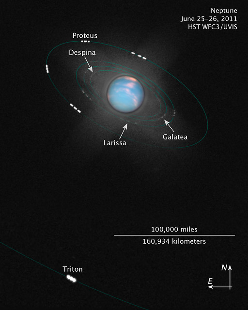 Inner Moons of Neptune [illustration] | Flickr - Photo ...