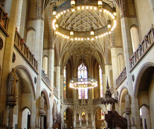 Wittenber Lutherstadt-Iglesia de Schlosskirche-Alemania 06