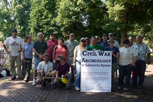 Civil War Archeology in Lafayette Square