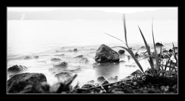 A orillas del lago de Chapala