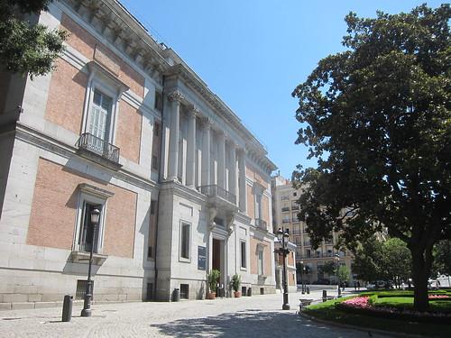 Museo del Prado. Puerta Murillo