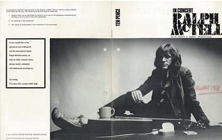 Ralph McTell, 12 Nov 1971