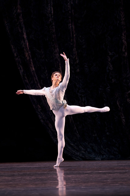 Sergei Polunin in Theme and Variations © Johan Persson/ROH 2011