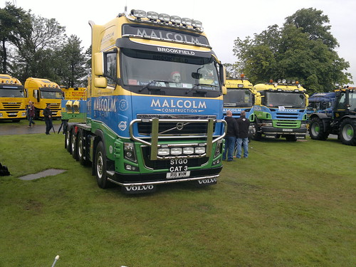 Malcolm Construction Heavy Haulage Volvo