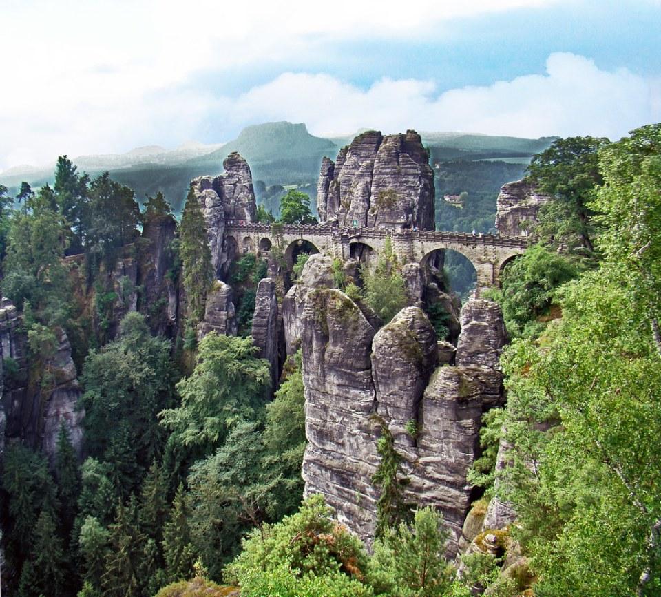 puente Bastei Alemania