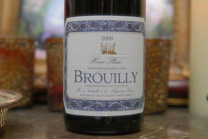 Tasting Henri Plasse 2009 Brouilly #Beaujolais (Pic+Notes)