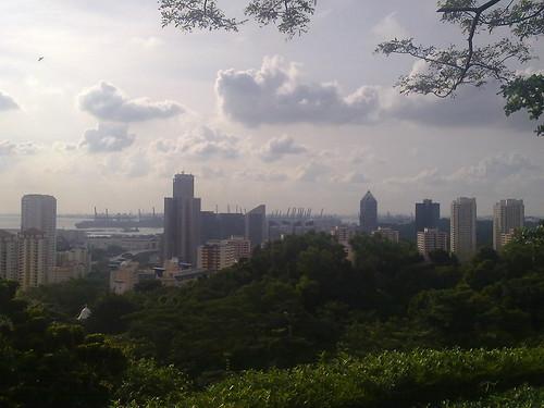 Mirador gratis, situado en Mount Faber Park, en Singapur