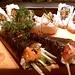 Eel Roll, Spicy Tuna & Salmon Skin Handroll