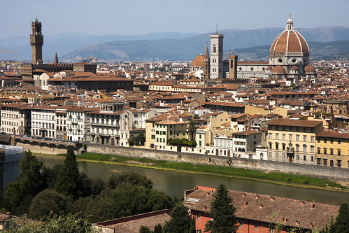 "Foto ""View of Florence from Piazzale Michelangelo"" by San Diego Shooter - flickr"