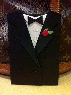 Tuxedo Pocket Card-Closed