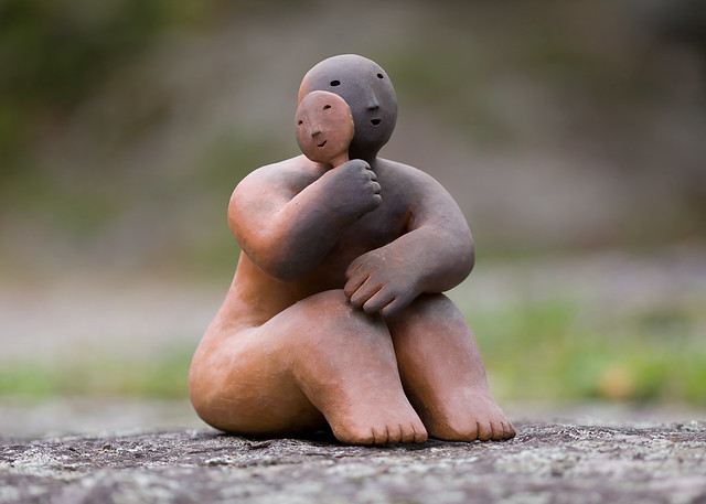 Joy Brown ceramic Sculpture