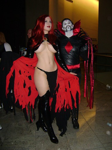 Goblin Queen and Mister Sinister by BelleChere