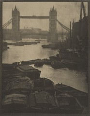 Tower Bridge, London, 1913, by Alvin Langdon Coburn
