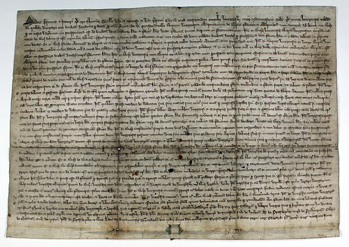 Thomas Grelle's Charter to the Burgesses of Manchester, 14 May 1301