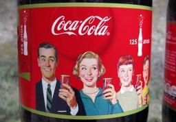 Coca-Cola 125 Anos 2,5 L art Serie de outubro 2011 Brasil