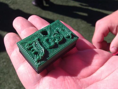 Josh's first 3D print