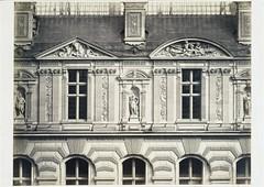 The Louvre, Cour Visconti, c.1853-75, by Edouard Baldus