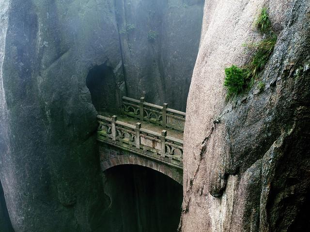 Stone Bridge between two cliffs
