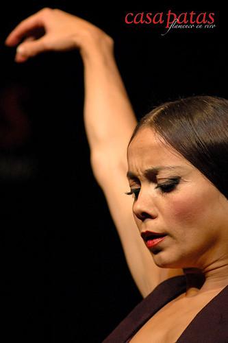 Olga Pericet en nuestro tablao. Foto: Martín Guerrero