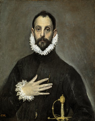The Nobleman with his Hand on his Chest, c.1580, by El Greco