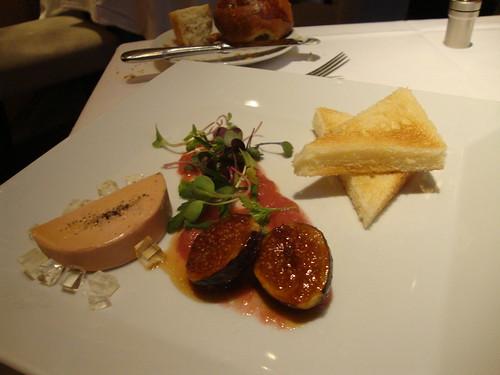 1st Course:  Foie Gras