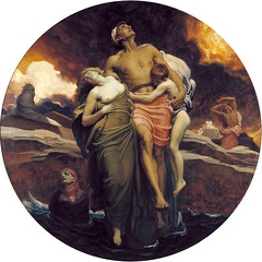 And the Sea Gave Up the Dead Which Were in It, by Frederic Leighton