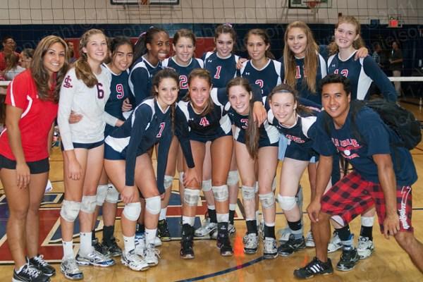 La Salle Girls' Varsity Volleyball Team | Flickr - Photo ...