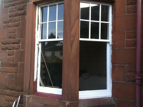 Replacement double glazed sashes