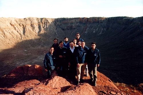 gruppo meteor crater