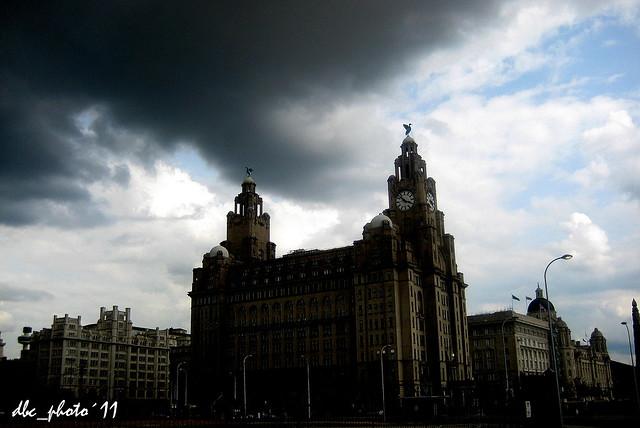 Tormenta sobre Liverpool