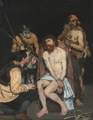 Jesus Mocked by the Soldiers, 1865, by Manet