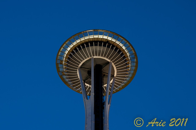 Space Needle in the morning