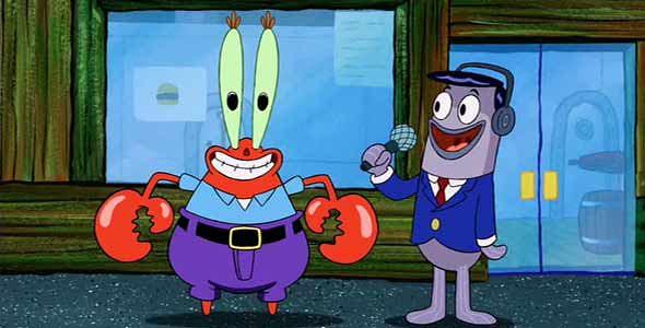 Mr Krabs I Like Money