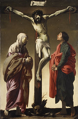 The Crucifixion with the Virgin and Saint John, 1625, by Hendrick ter Brugghen