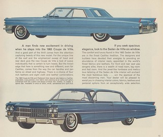 1963 Cadillac Coupe de Ville and Sedan de Ville