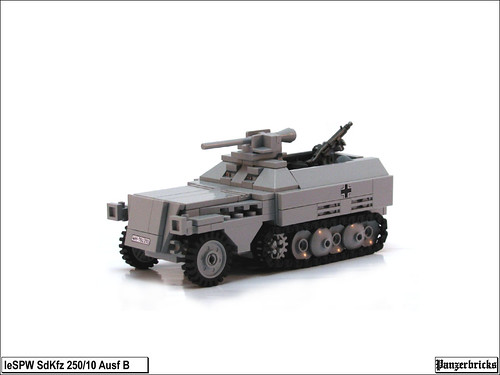 SdKfz 250/10 Ausf B de Panzerbricks