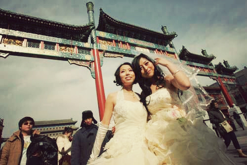 Beijing * Wedding photoshoot ~ via Chinahush