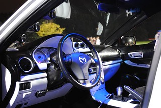 Justin Whitteds Twin Turbo Mazda 6 Interior