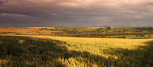 Welland Viaduct from Seaton