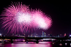 Fireworks, ta da, finished, ready, complete,