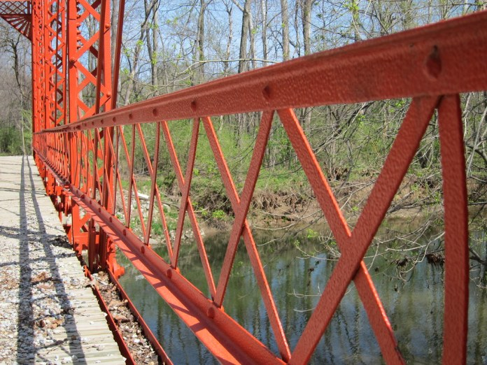 The bridge on Holliday Road