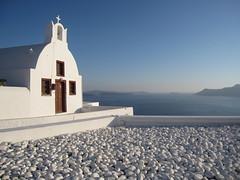 Chapel, Santorini