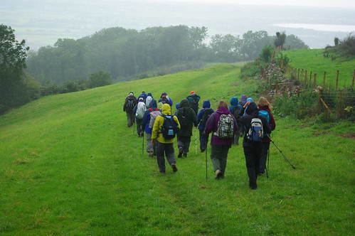 20110918-03_Midland Hill Walkers heading for Cheddar - Mendip Hills by gary.hadden