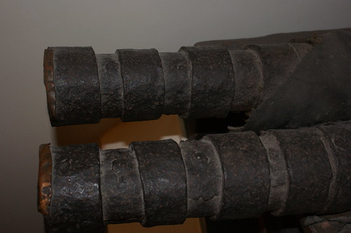 Leather Cannon muzzle, West Highland Museum, Fort William